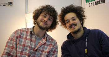 Milky Chance interview at FM4 Frequency Festival 2014