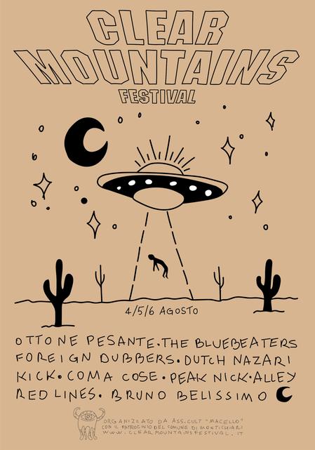 Clear mountains festival in programma dal 4 al 6 agosto a for Interno 4 montichiari